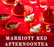Marriott RED Afternoon Tea