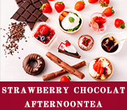 Strawberry Chocolat Afternoon Tea